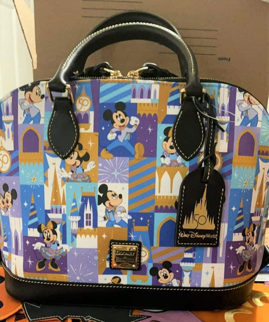 Walt Disney World 50th Anniversary Satchel by Dooney & Bourke