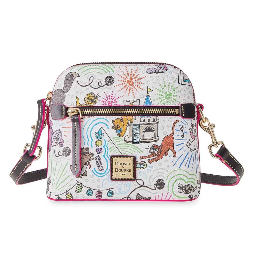 Disney Cats Sketch Crossbody Bag by Dooney & Bourke