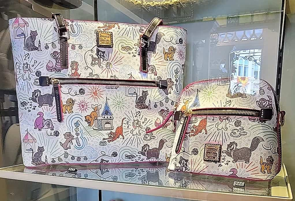 Disney Cats Sketch Preview Tote and Crossbody