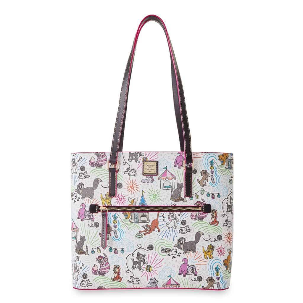 Disney Cats Sketch Dooney & Bourke Shopper Bag