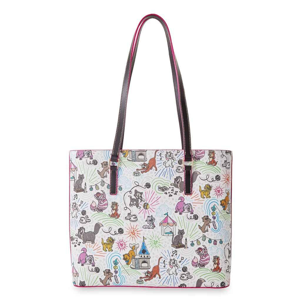 Disney Cats Sketch Dooney & Bourke Shopper Bag (back)