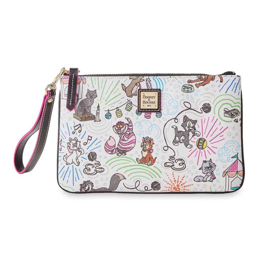 Disney Cats Sketch Wristlet Wallet by Dooney & Bourke