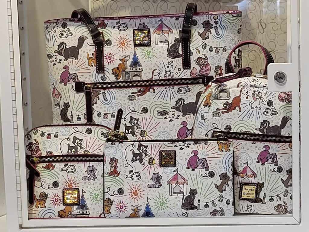 Disney Cats Sketch by Dooney and Bourke Preview