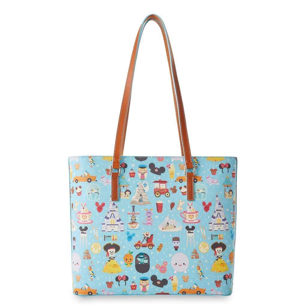 Disney Parks Dooney & Bourke Tote Bag by Jerrod Maruyama (back)