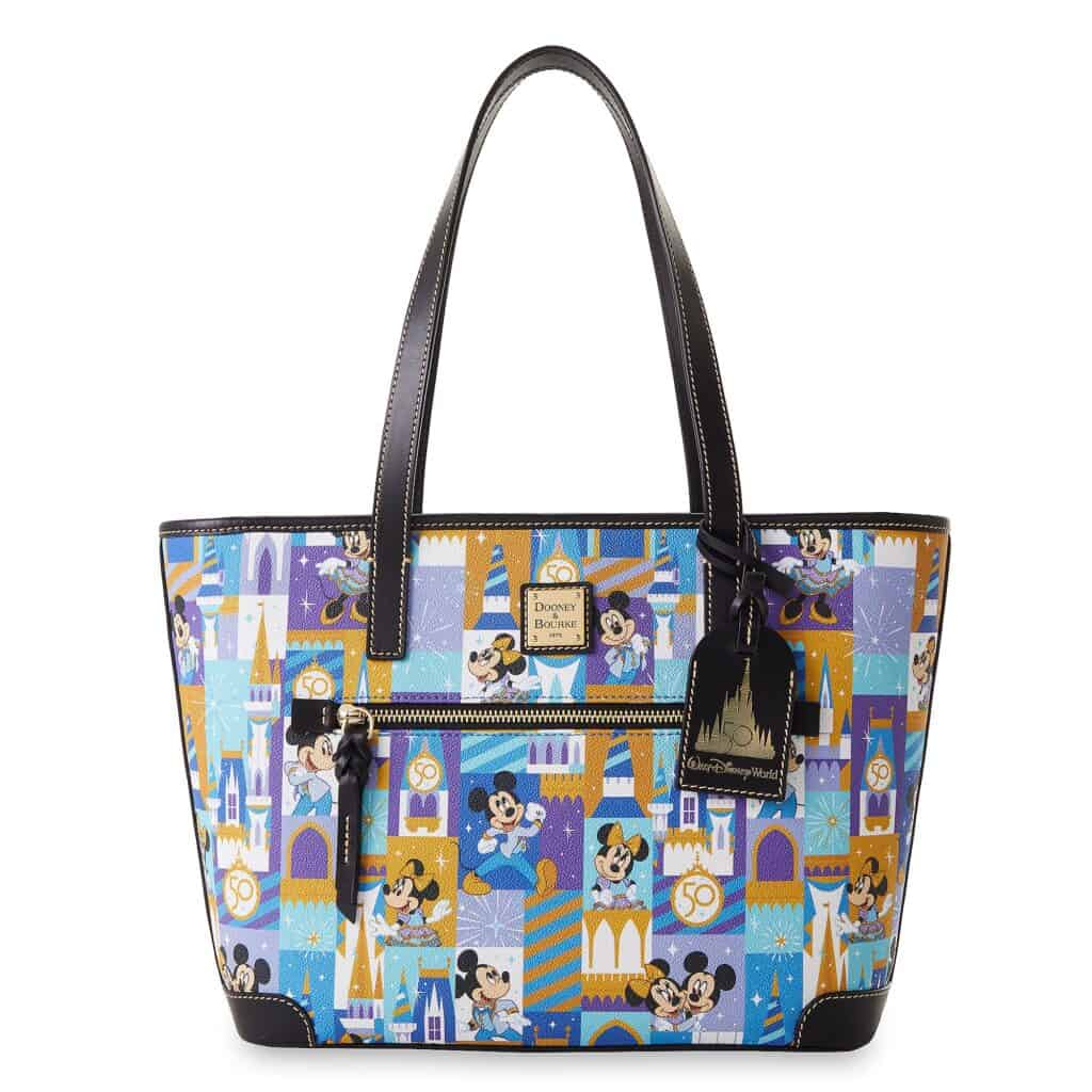 Mickey and Minnie Mouse Dooney and Bourke Tote – Walt Disney World 50th Anniversary