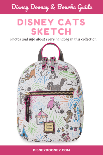 Pin me - Disney Cats Sketch Collection by Dooney and Bourke