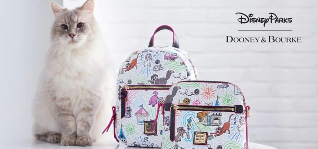 Disney Cats Sketch Collection by Dooney & Bourke