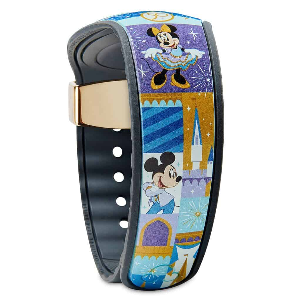 Mickey and Minnie Mouse MagicBand 2 by Dooney & Bourke – Walt Disney World 50th Anniversary – Limited Release (strap)