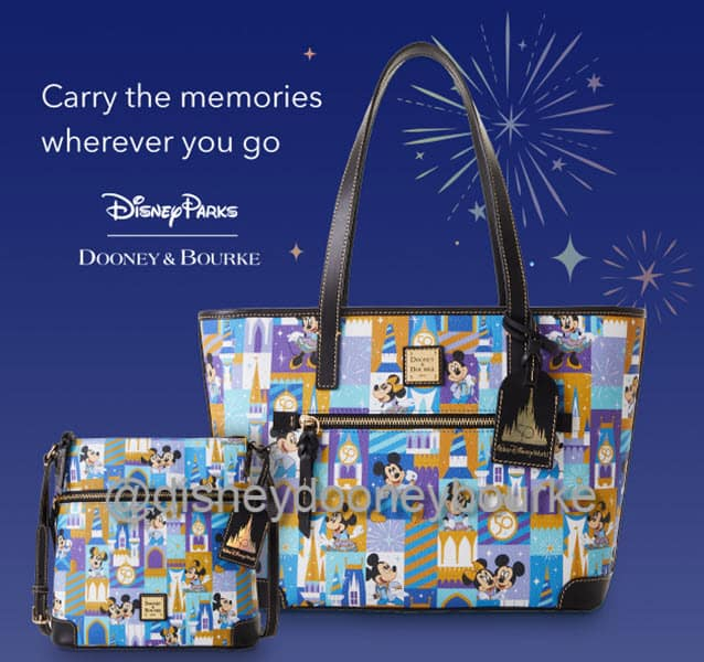 WDW 50th Anniversary collection by Dooney and Bourke